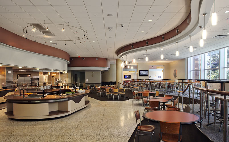 Colleges In Albany Ny >> The College of St. Rose - Dining Facility | Synthesis ...