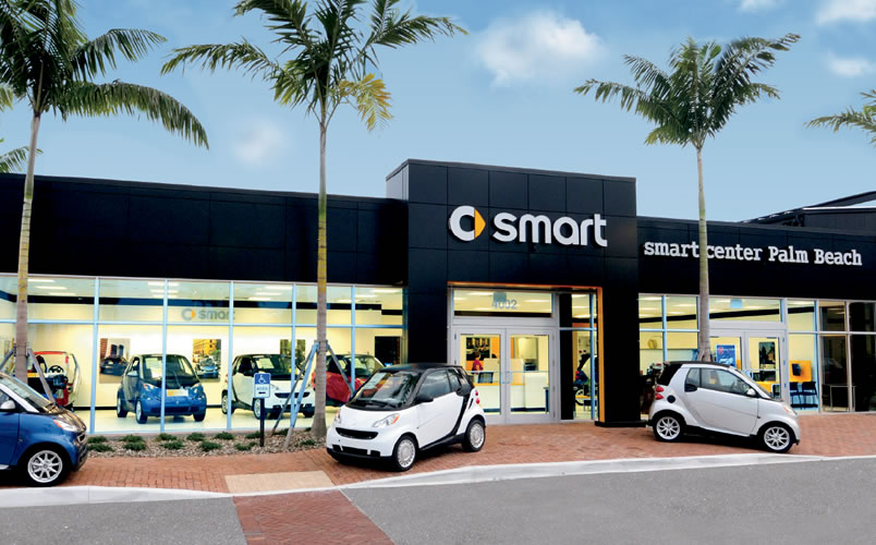 Smart Center Auto Dealership exterior