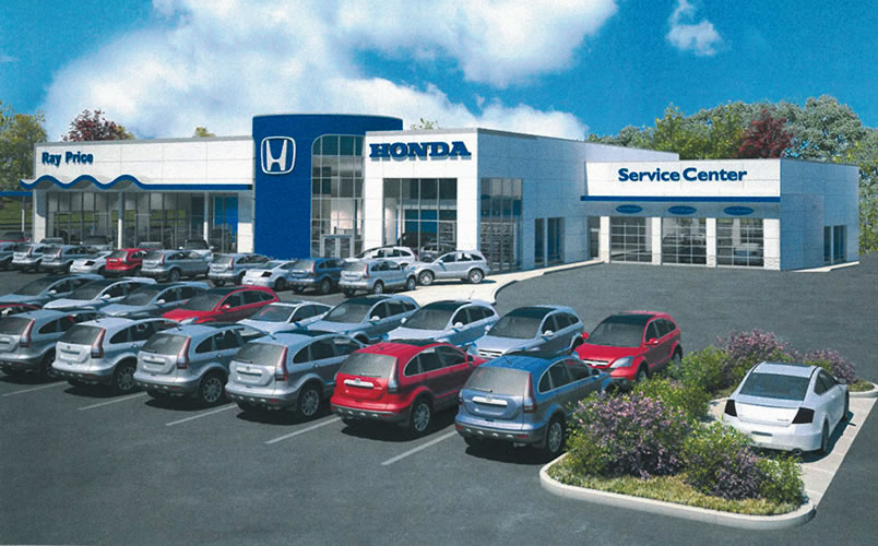 Ray Price Honda >> Car Facility Design New Ray Price Auto Park Honda